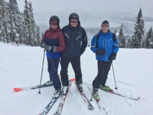 Bester Schnee in Whistler Mountain