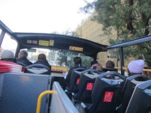 Busrundfahrt durch Madrid