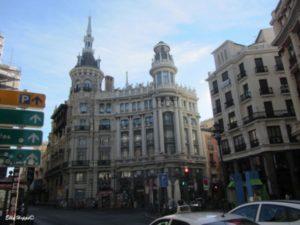 Madrid am frühen Morgen