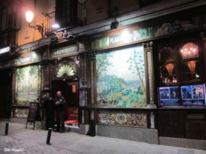 das Nachtleben in Madrid