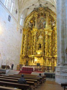 Retabel im Kloster San Esteban