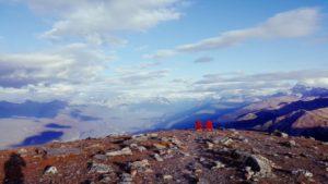 Aussicht vom Summit, nach der Fahrt mit der Jasper SkyTram