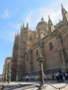 die neue Kathedrale von Salamanca
