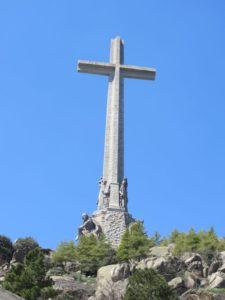 """Das Kreuz, Wahrzeichen des """"Valle de los Caidos"""""""