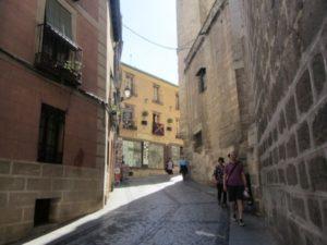 mittelalterliche Gassen in Toledo