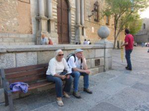 ein Ruheplatz vor dem Rathaus
