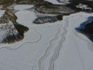 Lappland Eisdrifting für Singles