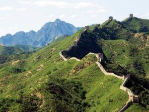Die Chinesische Mauer bei Peking