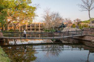 Garten des Kingdom Hotel