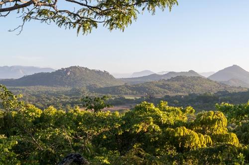 Aussicht von Musangano Lodge