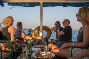 Bootsfahrt auf dem Sambesi Fluss