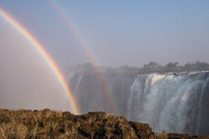 Regenbogen Victoria Falls