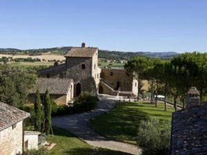 Das Castello Monticelli in Umbrien