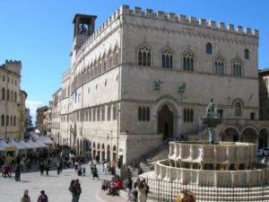 Platz Fontana Maggiore in Perugia - Umbrien
