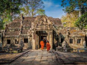 Kambodscha Angkor Tempel
