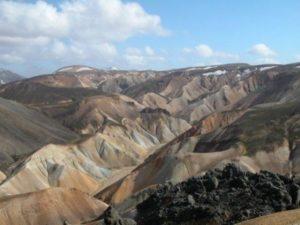 Vulkanwelt in Island