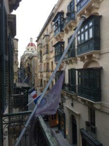 Fassaden Valletta Malta