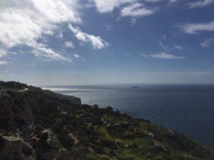 Mittelmeer Ausblick Malta